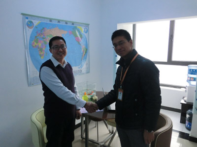Our company signed a cooperation agreement with the world's largest network operators Alibaba in November 2012. We have passed the examine & verify and become the Gold Supplier of Alibaba. We promise to provide the best service under the supervision and cooperation of Alibaba. Our company welcome the global customers to consult with the efficient service and sincere cooperation attitude.